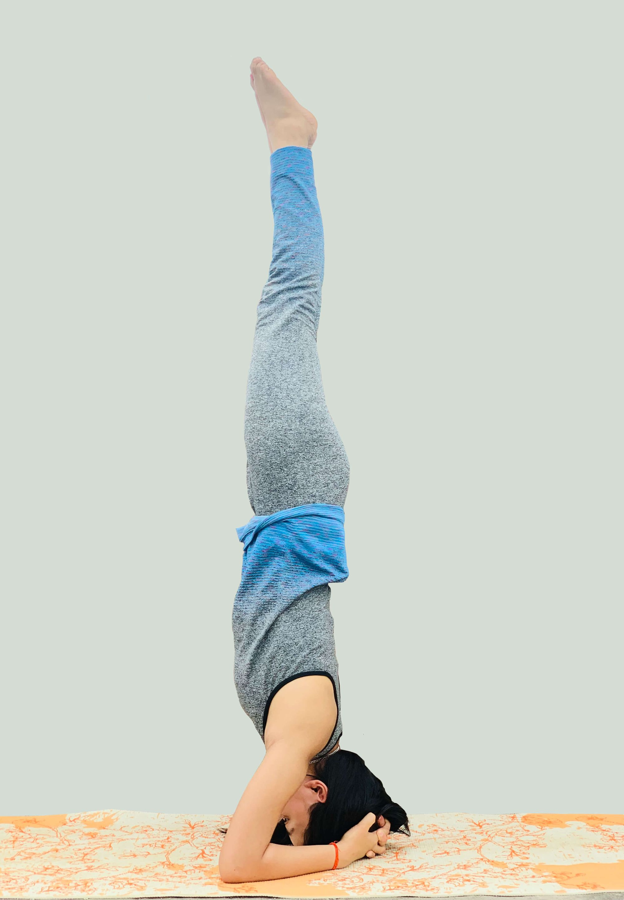 Headstand Not Straight