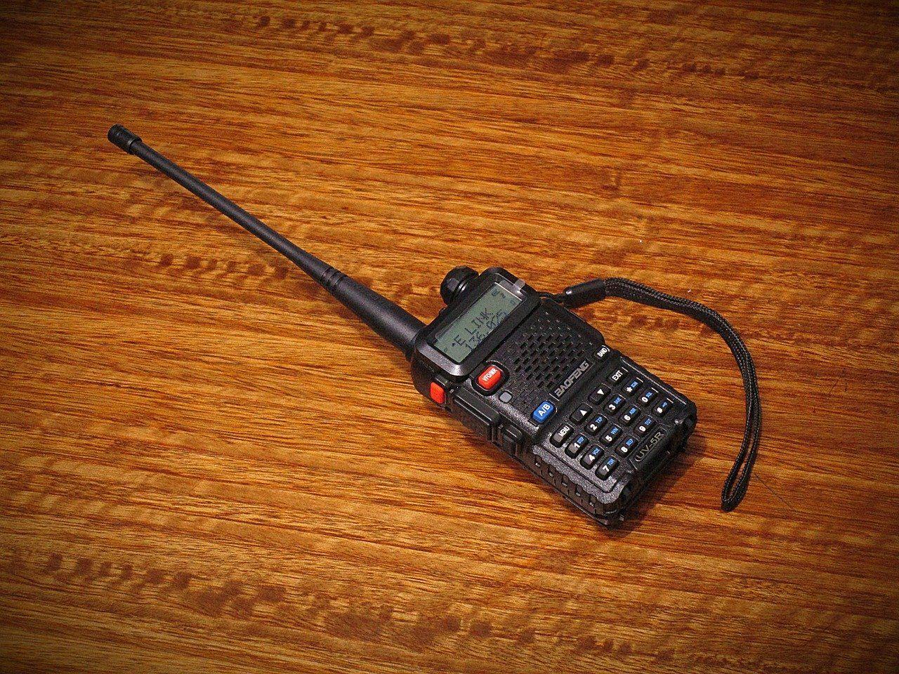 Radio or walkie talkie
