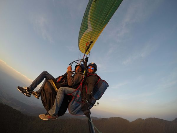 Experience Paragliding in Kathmandu