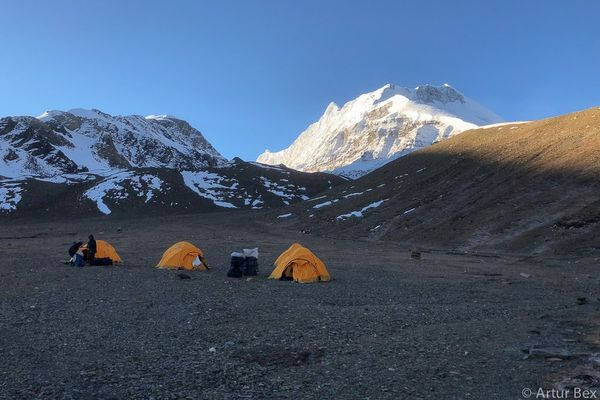 Dhaulagiri Circuit Trekking (video)