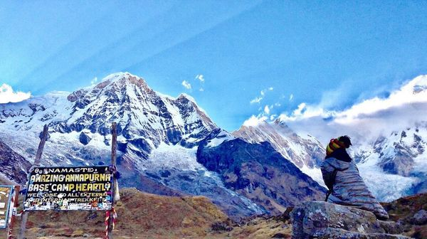 ANNAPURNA BASE CAMP TREK- A brief itinerary